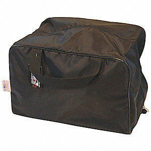 "Mask Bag, Black, 18"" L"