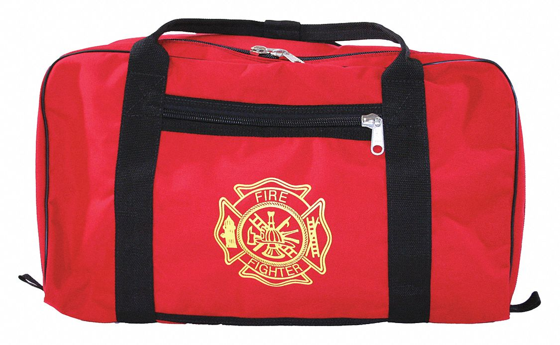 Red Gear Bag,  1000D Cordura(R), Nylon,  Includes Handle,  7,200 cu in Storage Capacity