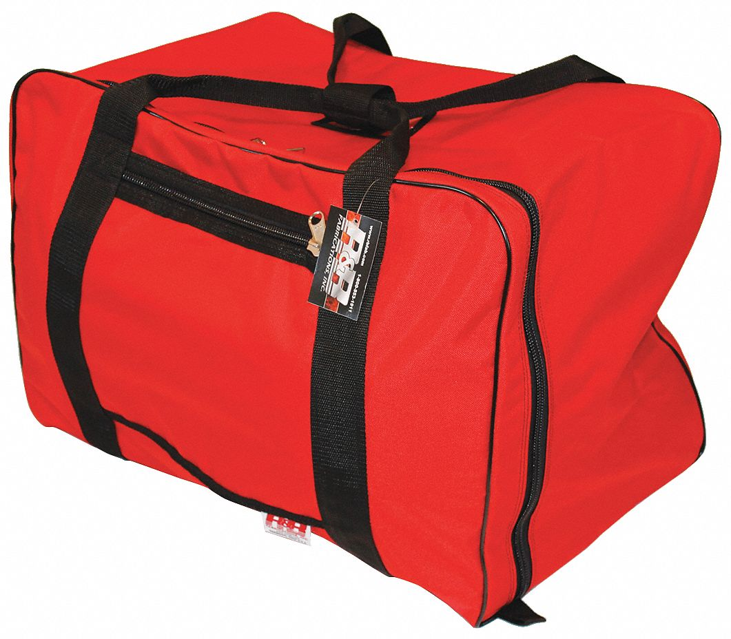 Red Gear Bag,  1000D Cordura(R), Nylon,  Includes Handle,  5,200 cu in Storage Capacity