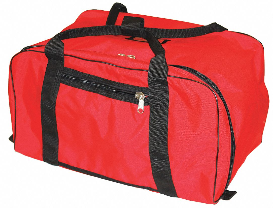 Red Gear Bag,  1000D Cordura(R), Nylon,  Includes Handle,  4,200 cu in Storage Capacity