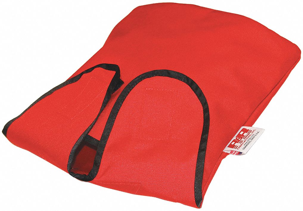 Air Mask Bag,  4 in Length,  10 in Width,  14 in Height,  Hook-and-Loop Closure Type