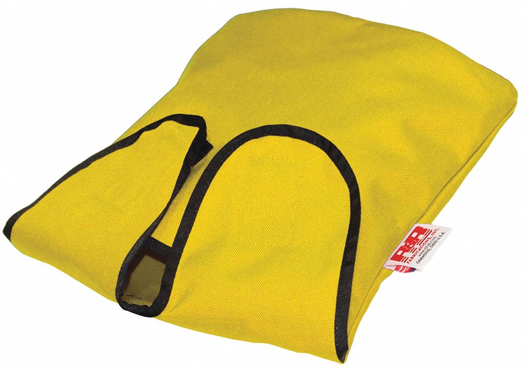 Yellow Air Mask and Regulator Bag,  1000D Cordura(R), Nylon,  Includes Hanging Clip