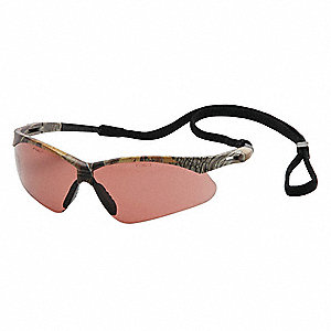 Agitator Anti-Fog, Anti-Static, Scratch-Resistant Safety Glasses, Bronze Lens Color