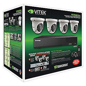 Network Video Recorder Kit, 2 MP, 2 TB