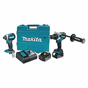18V LXT® Brushless Cordless Combination Kit, 18.0 Voltage, Number of Tools 2