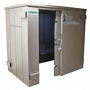 Tornado Safe Room and Shelter, (25) People Capacity