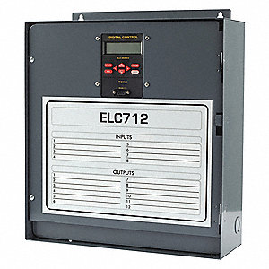 Electronic Timer, 20 Amps, 120/208 to 240/277VAC Voltage, Operation Mode: 24 hr., Number of Channels