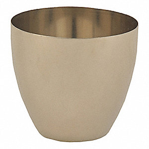 57mm Nickel Crucible, Silver
