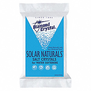 50 lb. Water Softener Salt, Solar Naturals Series, Tablet, 99.8% Purity