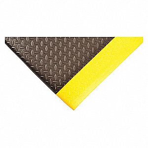 Antifatigue Mat, Closed Cell Vinyl Foam, 3 ft. x 2 ft., 1 EA