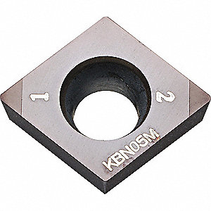 Diamond Turning Insert, CCMW, 3252-KBN05M