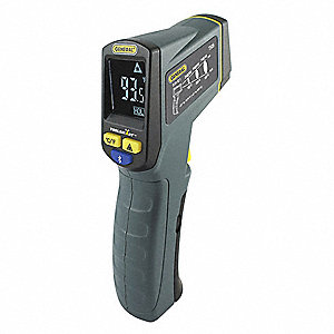 Infrared Thermometer, -40° to 1076°F, Calibration Certificate: No