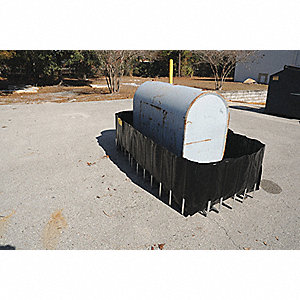 Tank Containment Sump, Uncovered, 400 gal. Spill Capacity