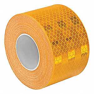 Reflective Tape, Polyester, 30 ft. L