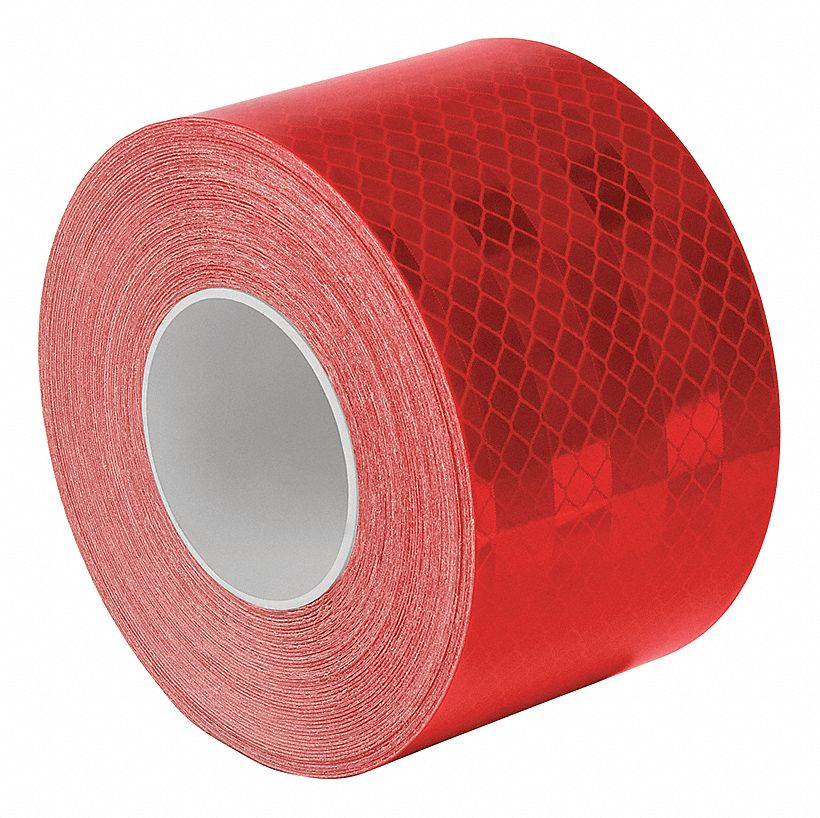 Red//White 30 Length 3M 963-326 2 X 30FT 963-326 Flexible Prismatic Conspicuity Markings 2 Wide