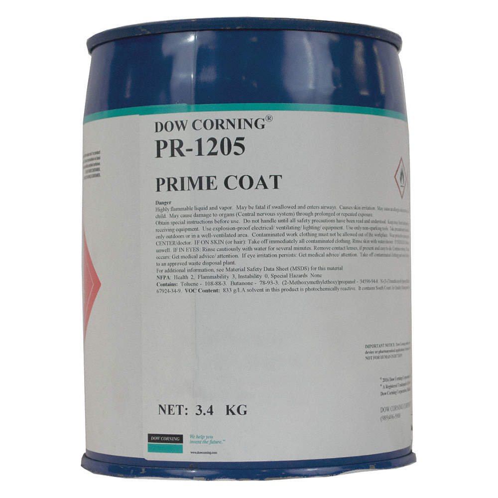Primer, For Use on Adhesive Type : Sealants, Can, 119 90 oz