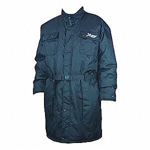Insulated Coat,4XL,Navy,Mens,Insulated