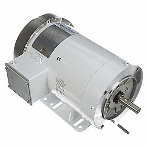 1 HP Washdown Motor,3-Phase,1170 Nameplate RPM,230/460 Voltage,Frame 56HC