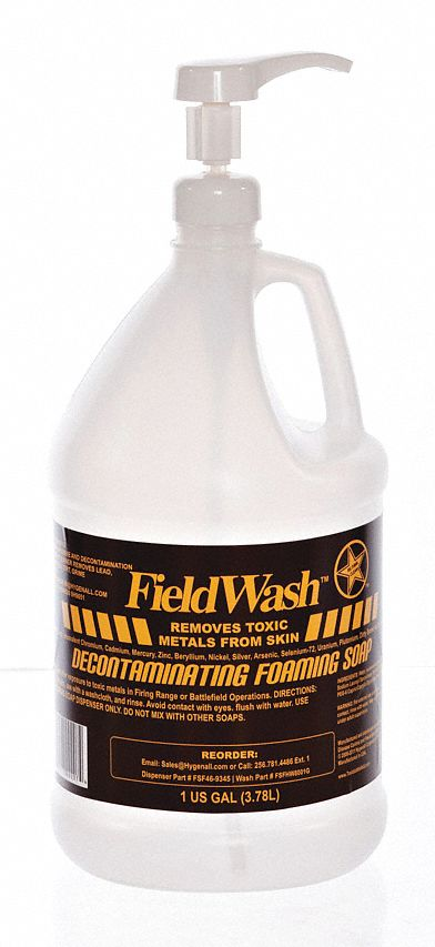Fresh,  Foam,  Hand Soap,  1 gal,  Pump Bottle,  HYGENALL FIELDWASH,  PK 4