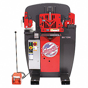 Ironworker,23A,1 Phase,5 HP,230V
