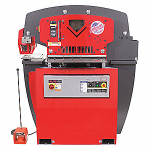 Ironworker,22A,1 Phase,7-1/2 HP,95 tons