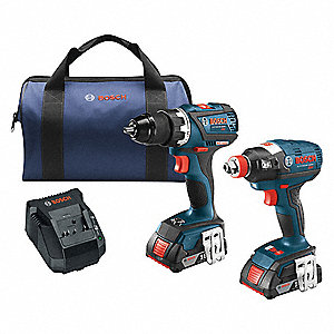 EC Brushless Cordless Combination Kit, 18.0 Voltage, Number of Tools 2