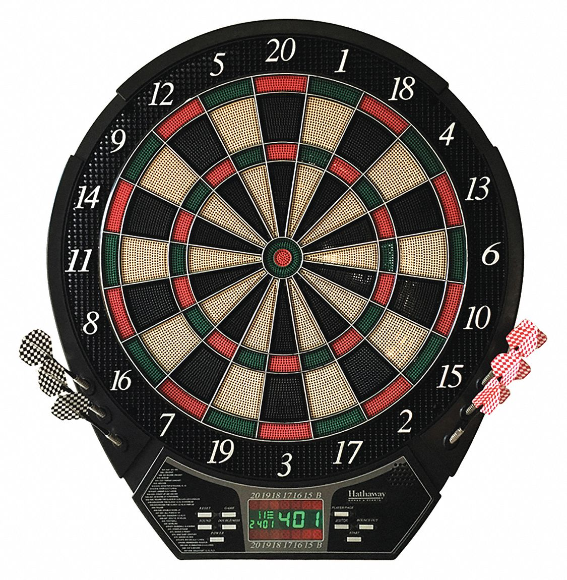 Electronic Dartboard, Black