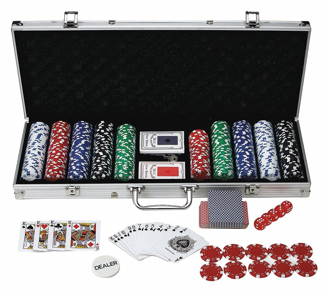 Poker Set; For Use With Poker Table