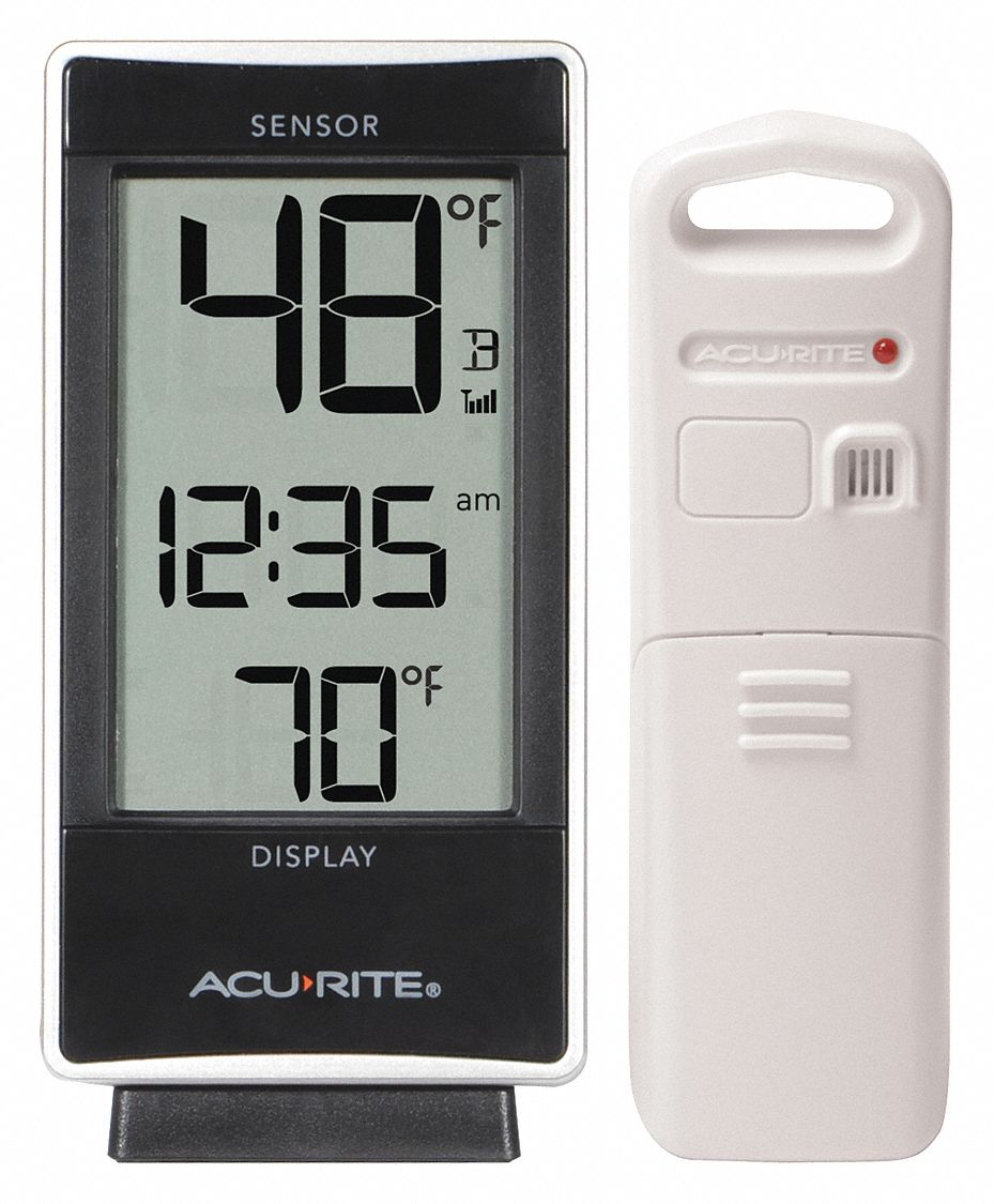 Wireless Thermometer, Digital LCD