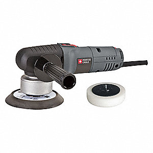 "Orbital Sander, Corded, PSA, 6"" Pad Size, 4.5 Amps, Variable Speed Type"