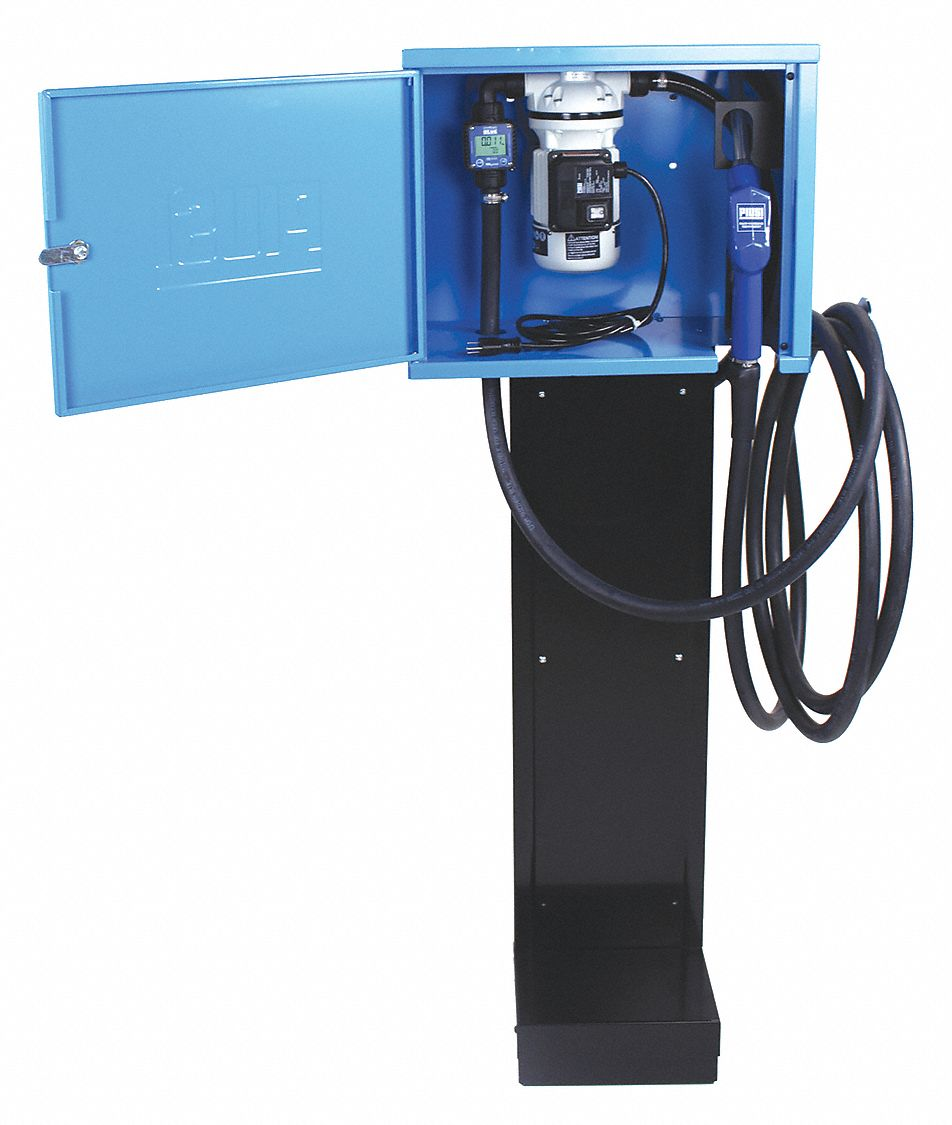 43/64HP 1-Piece Tube Cast Iron DEF Transfer Pump, 9 GPM