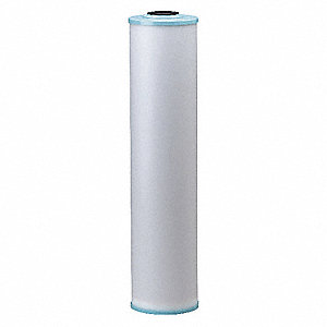 "Water Softener Cartridge, 4-1/2"" Diameter, 20"" Height, 2.00 gpm"