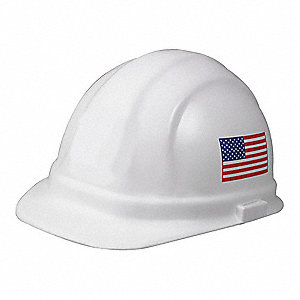 Hard Hat,6 pt. Ratchet,Wh