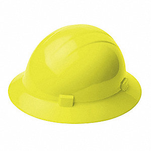 Hard Hat,4 pt. Ratchet,Hi-Vis Ylw