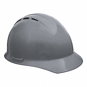 Hard Hat,4 pt. Ratchet,Gray