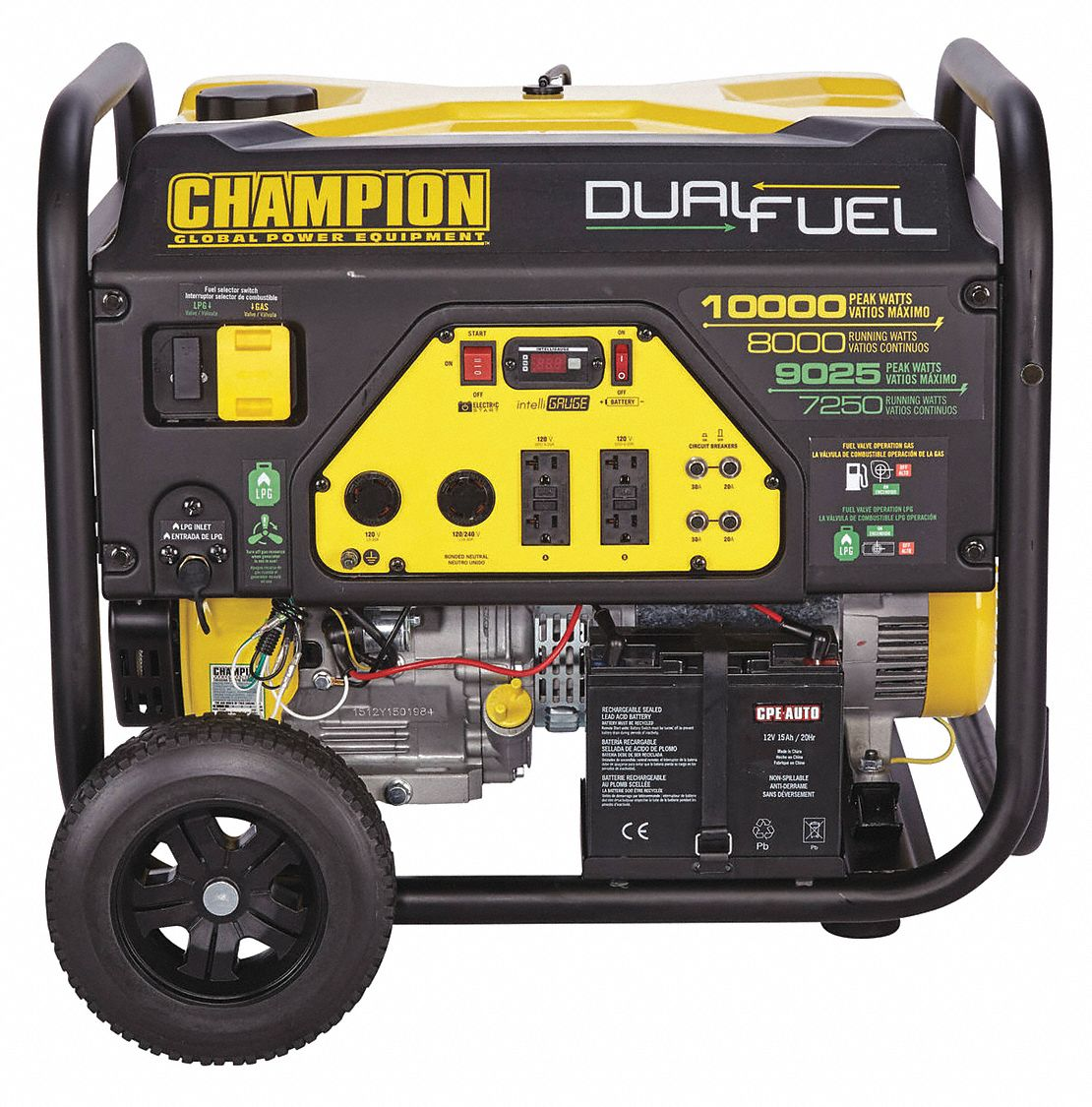 Champion Power Equipment Electrical Power Generators Outdoor Equipment Grainger Industrial Supply