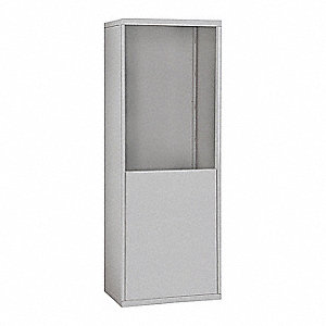 "Enclosure,9-1/4"" Overall Depth,Aluminum"