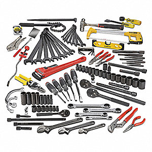 SAE Master Tool Set, Number of Pieces: 107, Primary Application: Technician