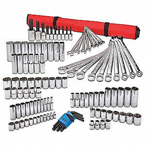 Metric Master Tool Set, Number of Pieces: 111, Primary Application: Add-On