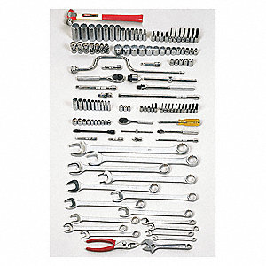 SAE Master Tool Set, Number of Pieces: 126, Primary Application: Starter