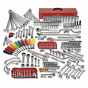 SAE Master Tool Set, Number of Pieces: 194, Primary Application: General Purpose