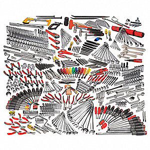 Master Tool Set,General Purpose,558 pcs.