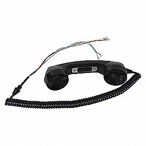 Plastic Handset Kit, Black; For Mfr. No. 226-001, 227-001, 276-001, 277-001