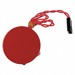 Piezo Switch Assembly Kit,Red,Plastic
