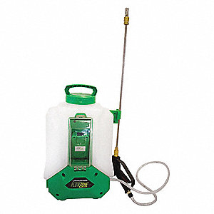 Backpack Sprayer, Polyethylene Tank Material, 4 gal., 60 psi Max Sprayer Pressure