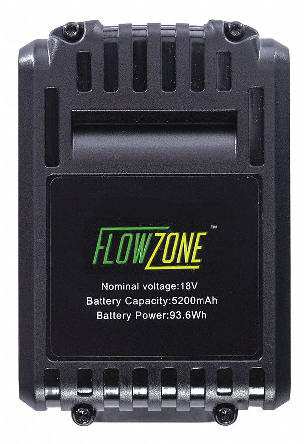 Battery,  5.2 Ah,  Li-Ion,  18V DC