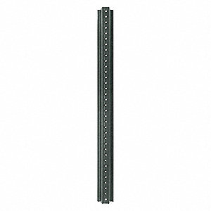 "U-Channel Sign Post, Breakaway Feature: No, 36""L, Steel, Green"