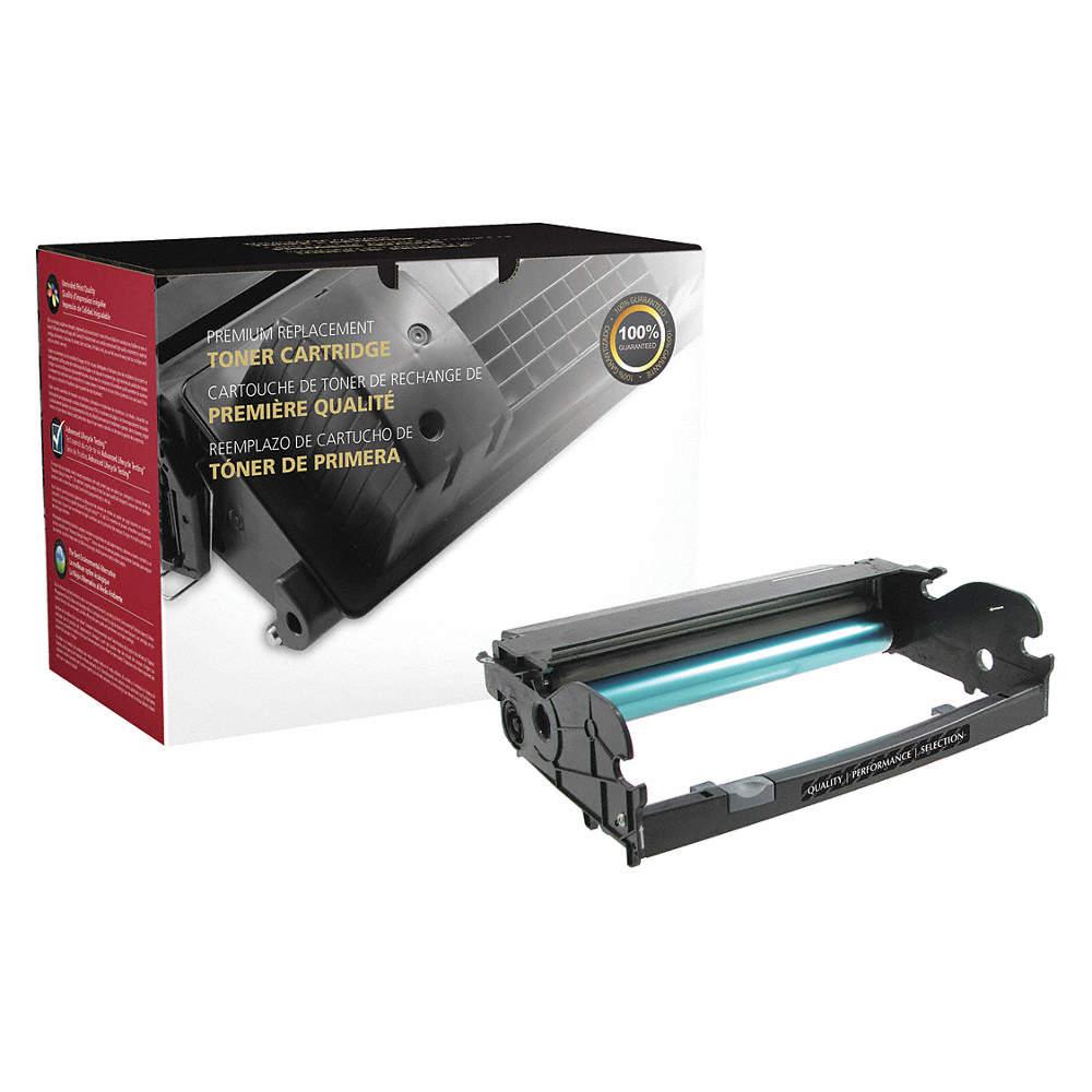 Printer Drum for Dell Printers, Market Indicator Cartridge No : E460,  Black, 10,000 Max  Page Yield