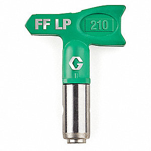 "0.010"" Tip Size FFLP Airless Spray Gun Tip, 4"" to 6"" Pattern Size, 7/8"" Thread Size"