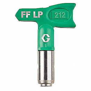 "0.012"" Tip Size FFLP Airless Spray Gun Tip, 4"" to 6"" Pattern Size, 7/8"" Thread Size"
